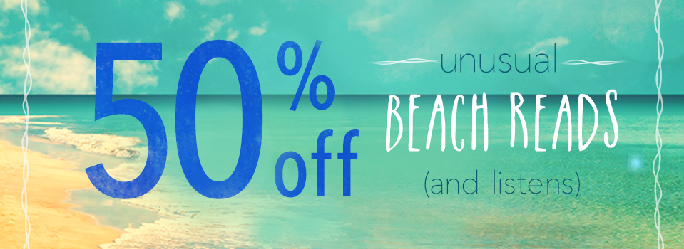 50% Off Unusual Beach Reads